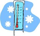 О посещение школы в морозы