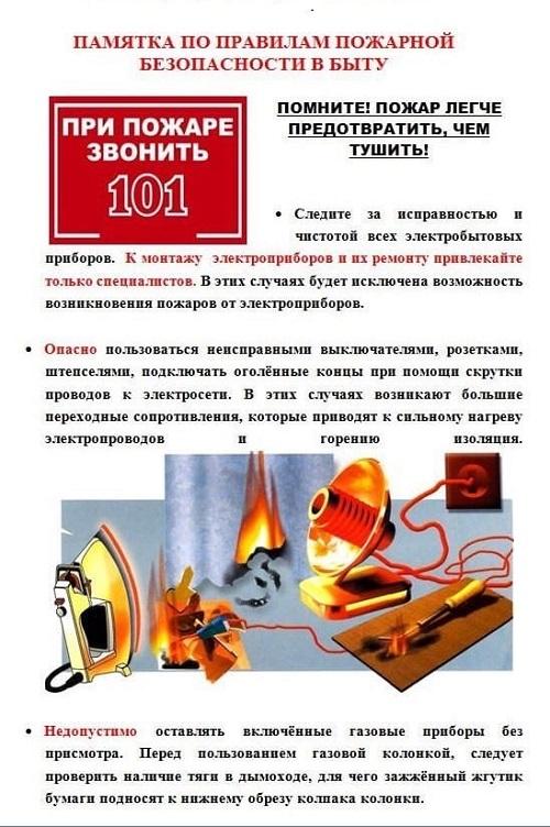 противопожарный режим2